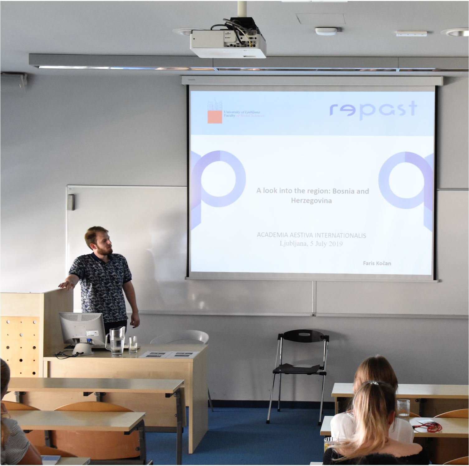 Faris Kočanan participated as an invited speaker at Academia Aestiva Internationalis