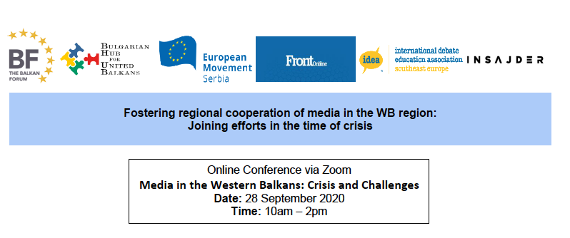 RePAST's Abit Hoxha Presents at Media in the Western Balkans: Crisis and Challenges Conference